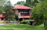 Hillside Home School, 1902, Taliesin, Spring Green, Wisconsin, Frank Lloyd Wright.