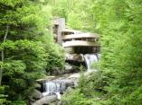 Fallingwater, Bear Run, Pennsylvania (1939), Frank Lloyd Wright